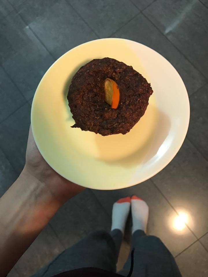 persimmon muffin
