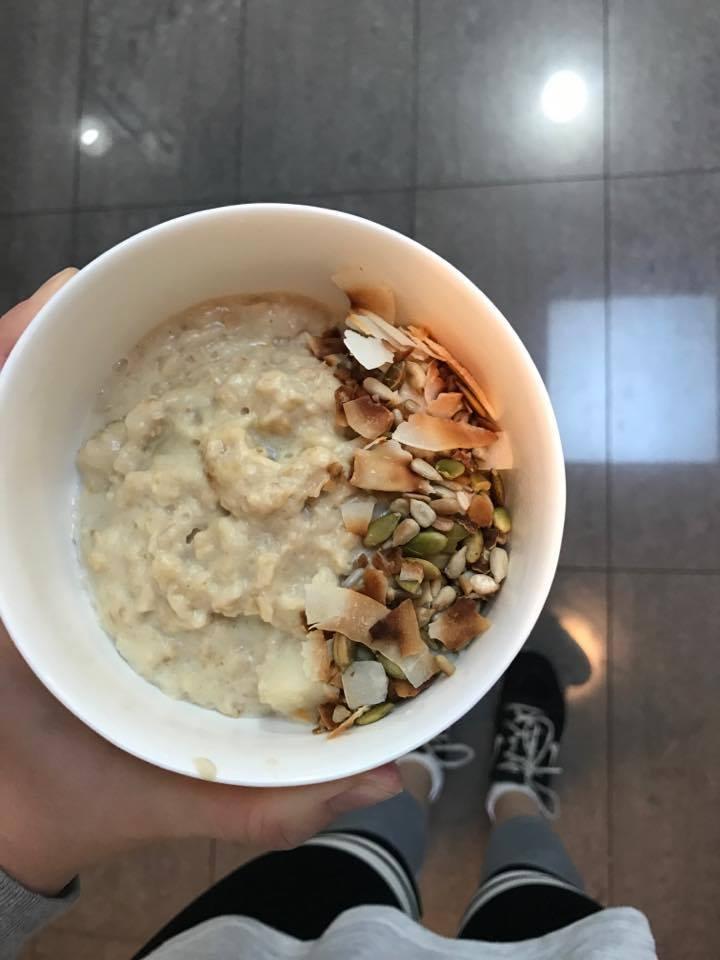 ginger porridge